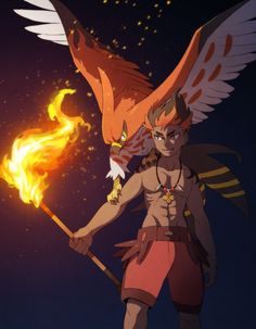 Kiawe and Talonflame