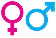 Dit zijn de 2 tekens van de 2 geslachten