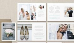 Wedding Magazine for Photographers. Create a unique guide for your soon to be clients. Completely customizable Photoshop files give you control of your branding needs.