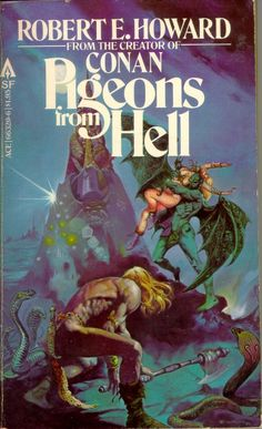 66320-6 ROBERT E. HOWARD Pigeons From Hell (cover by Esteban Maroto; 1978; 1st…