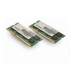 Patriot Signature Apple 8GB (2 X 4GB) PC3-12800 (1600MHz) CL11 DDR3 SODIMM Memory Module Kit PSA38G1600SK Compatible with Apple iMac, MacBook Pro, and Mac Mini (2012 models). DDR3 1600MHz (PC3-12800) Non-ECC Unbuffered SODIMM. 100% Tested at 1600MHz 1.35V/1.5V (programmed at 1.35v,backwards compatible to 1.5v). 7.8US Refresh Interval (8192 CY CLES/64MS).  #Patriot #Personal_Computer