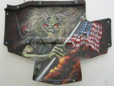 HOOD LINERS | Airbrush Incorporated Inc | custom airbrushed artwork for your Corvette or Motorcycle