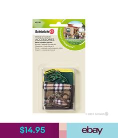 Schleich North America Blanket + Headstall Toy Figure A horse blanket protects the animal from cold and bad weather. Your beloved horses will look great with the two blankets. The set consists of a plaid and a green blanket and two matching headstalls. Schleich Horses Stable, Horse Stables, Horse Tack, Shopkins, Bryer Horses, Green Blanket, Tack Sets, Headstall, Saddle Pads