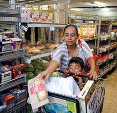 """""""The companies do not hire permanent employees anymore,"""" says Joey Gamilla, who waited to pick up groceries at Loaves & Fishes on a recent morning. """"It's mostly temps. They don't have to pay benefits."""" Workers, he complains, """"are expendable."""""""