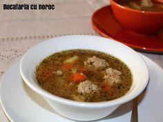 Ciorba de perisoare - Bucataria cu noroc Grains, Rice, Food, Essen, Meals, Seeds, Yemek, Laughter, Jim Rice