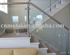 Image detail for -Stair glass railing,View Stair glass railing, Product Details from ...