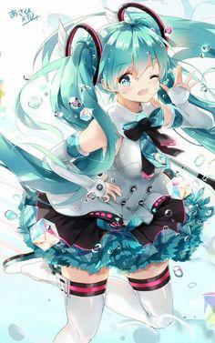Hatsune miku is so cute