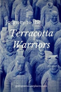 A blogging journey from Shanghai all the way up to Xi'an in China to see the legendary Terracotta Warriors