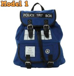 Doctor Who Police Box Backpack-Inspiring Wave