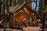 """Ya-all know I don't like camping.. .so I found """"Glamping"""" ...  Luxury Tents - Moonlight Camp at The Resort at Paws Up!"""