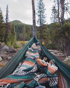 I would love to make a hammock, but it out in the woods and just read all day. ♥