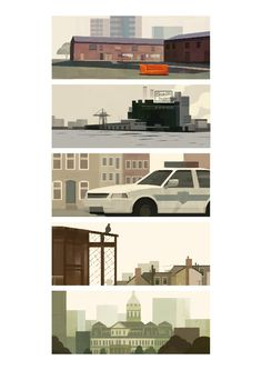 """The Wire"" Illustrated by Mark Boardman"