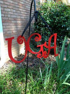 Georgia Bulldogs UGA Metal Sign @Michelle Flynn Flynn Flynn Flynn Griffeth