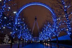 The London Eye by erik g peterson