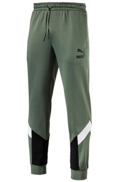 Puma MCS Track Pants - Laurel Wreath - Men's style, accessories, mens fashion trends 2020 Track Pants Mens, Mens Jogger Pants, Sport Fashion, Mens Fashion, Laurel Wreath, Bell Bottom Pants, Sport Wear, Menswear, Girl Clothing