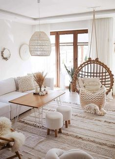 Boho Living Room, Cozy Living Rooms, Home And Living, Living Room Decor, Modern Living, Apartment Living, Scandinavian Minimalist Living Room, Indian Living Rooms, Living Room On A Budget