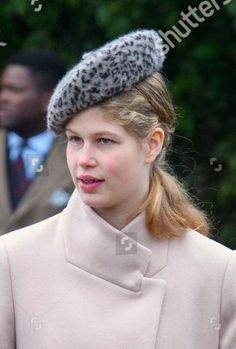 Lady Louise Windsor, 25 décembre Christmas Day Church service, Church of St Mary Magdalene, Sandringham, Angleterre Lady Louise Windsor, Countess Wessex, Louise Mountbatten, Viscount Severn, Princess Louise, Catherine The Great, Royal Blood, Church Hats, Prince Edward