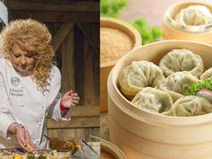 Kitchen Recipes, Dog Food Recipes, Cooking Recipes, Dim Sum, Dumplings, Apple Pie, Peanut Butter, Food And Drink, Menu