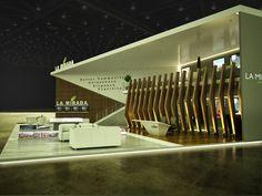 Exhibition Design: LA MIRADA BOOTH @ Cityscape Cairo by Mohammed Mubarak, via Behance
