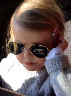 My girl looking great in her Ray Ban sunglasses #rayban