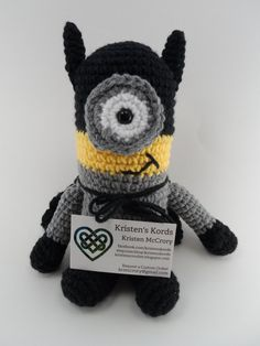 Free Crochet Batman Minion Pattern : Crochet batman, Batman and Batman minion on Pinterest