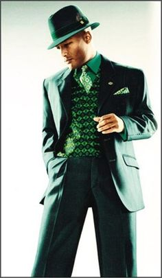 Emerald green is the colour of 2013.  Inspiring styling here.