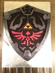 Legend of Zelda cake from www.facebook.com/layerbylayercakes
