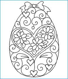 Hatched in Africa - Free Redwork Eggs - Easter Coloring Pages, Printable Adult Coloring Pages, Colouring Pages, Coloring Pages For Kids, Coloring Sheets, Coloring Books, Quilling Patterns, Quilling Art, Easter Projects