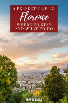 I've been to Florence, Italy 40+ times, solo, with friends and with family - easily my favorite city in the world! Here are our favorite things to do and places to stay.