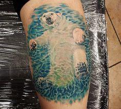 Eisbär Tattoo Designs mit Bedeutungen – 15 Ideen