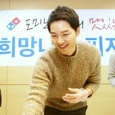 Song Joong Ki Domino's Pizza Charity Event 1017