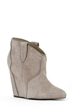Sami Wedge Bootie - Gray