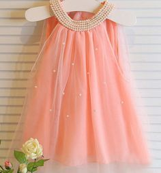 Pre-Order - A-Line Sleeveless Dress with Pearl Accents Toddler Dress, Baby & Toddler Clothing, Newborn Outfits, Girl Outfits, Princess Party, Party Wear, Kids Wear, Dresses Online, Pretty Dresses