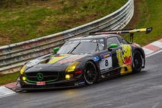 VLN - Langstreckenmeisterschaft - Nürburgring - Nordschleife - Mercedes-Benz SLS AMG GT3 - #8