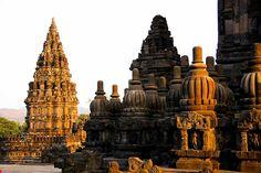 Candi Rara Jonggrang at Prambanan at Java, Hindu temple complex