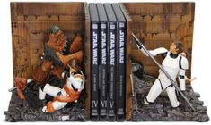 Star Wars Trash Compactor Bookends - I have a bad feeling about this!
