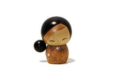 Low Bun Mini Kokeshi Doll | AsiaStore at Asia Society