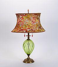 """Sonya by Susan Kinzig and Caryn Kinzig (Mixed-Media Table Lamp) (27"""" x 18"""")"""