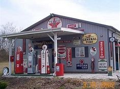 Image result for 1050s gas stations