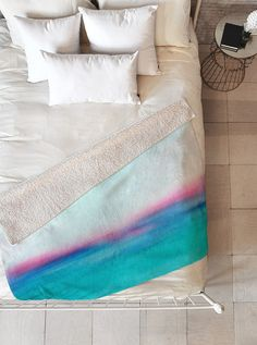 """Great Graduation Gift Ideas for the Dorm Room, Apartment, New House, etc. This """"In Your Dreams"""" Sherpa Throw Blanket may be the softest blanket ever! And we're not being overly dramatic here. In addition to being incredibly snuggly with it's plush, silky smooth top side, and its fuzzy warm under side!"""