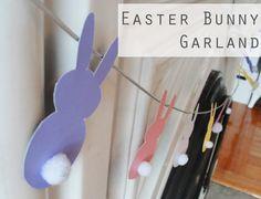 easter garland | Easter_Bunny_Garland_craft_diy