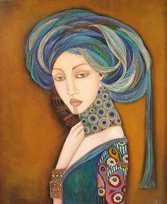 faiza maghni, Pintor autodidacta de Orán, vive en París | URieLaRtE
