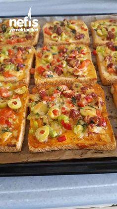 Sütlü Dilim Pizza #sütlüdilimpizza #pizzatarifleri #nefisyemektarifleri #yemektarifleri #tarifsunum #lezzetlitarifler #lezzet #sunum #sunumönemlidir #tarif #yemek #food #yummy