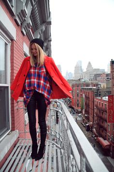 Fall is a great excuse to break out those stylish flannels.