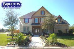 Model Home Exterior at Bayou Lakes  www.brightonhomes.com