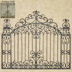 Gates Of Tuscany Wall Grille