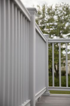 Transform in Satin White with Emerge Top Rail