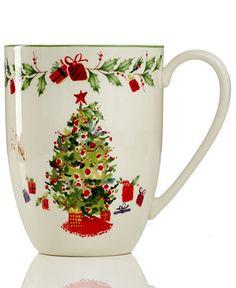 Lenox Holiday Illustrations Dinnerware #Dillards | Christmas ...
