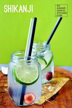 Indian Lemonade from SHIKANJI  #foodie   #food