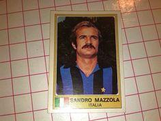 Panini EUROFOOTBALL  sticker n°146 SANDRO MAZZOLA INTER ITALY Original & new!